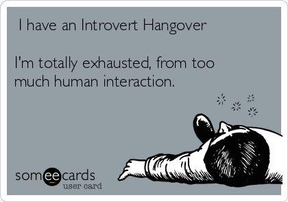 introvert hangover